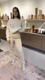 Nubikk Elise Blush platino metallic shiny