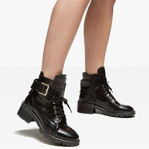 Nubikk Djuna aubine black leather