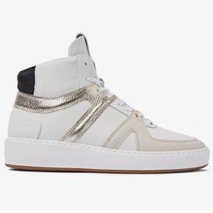 Nubikk Jiro Dunk white/gold sneaker