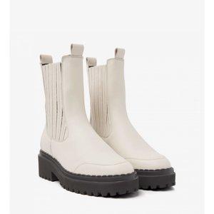 Nubikk Fae Lina L Beige Chelsea Boots