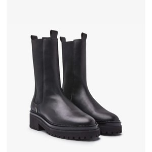 Nubikk Fae Adams Chelsea Boots Black